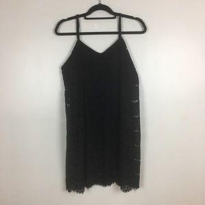 3 for $30 Love Fire Crochet Mini-Dress